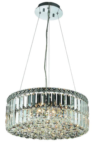 Elegant Lighting - V2030D20C/RC - 12 Light Chandelier - Maxime - Chrome