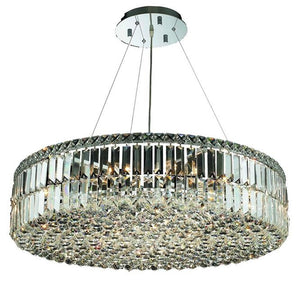 Elegant Lighting - V2030D32C/RC - 18 Light Chandelier - Maxime - Chrome