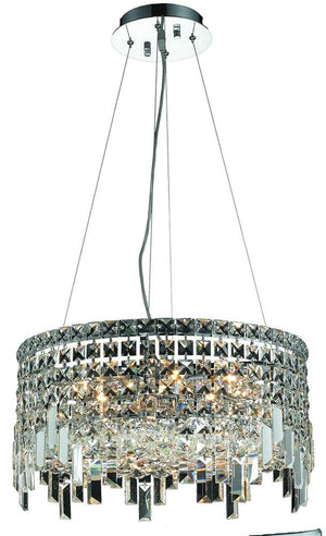 Elegant Lighting - V2031D20C/EC - 12 Light Chandelier - Maxime - Chrome