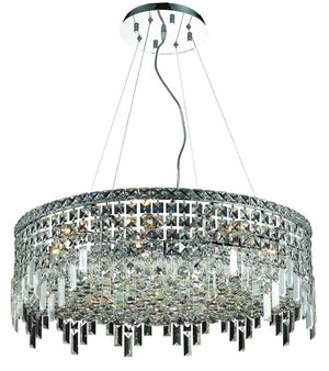 Elegant Lighting - V2031D28C/EC - 12 Light Chandelier - Maxime - Chrome