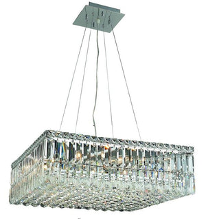 Elegant Lighting - V2032D24C/EC - 12 Light Chandelier - Maxime - Chrome