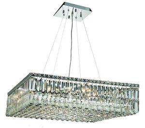 Elegant Lighting - V2032D32C/EC - 12 Light Chandelier - Maxime - Chrome