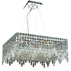 Elegant Lighting - V2033D24C/EC - 12 Light Chandelier - Maxime - Chrome