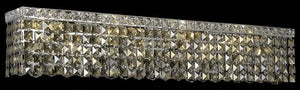 Elegant Lighting - V2033W30C-GT/SS - Six Light Wall Sconce - Maxime - Chrome