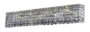 Elegant Lighting - V2033W36C/SA - Eight Light Wall Sconce - Maxime - Chrome