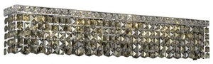 Elegant Lighting - V2033W36C-GT/RC - Eight Light Wall Sconce - Maxime - Chrome