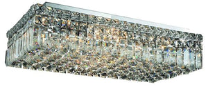 Elegant Lighting - V2034F24C/EC - Six Light Flush Mount - Maxime - Chrome