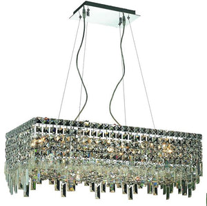 Elegant Lighting - V2035D28C/RC - 16 Light Chandelier - Maxime - Chrome