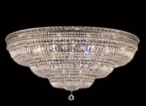 Elegant Lighting - V2528F48C/SA - 33 Light Flush Mount - Tranquil - Chrome