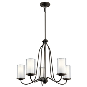 Kichler - 44176OZ - Five Light Chandelier - Lorin - Olde Bronze
