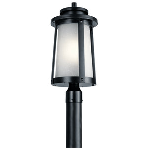 Kichler - 49920BK - One Light Outdoor Post Mount - Harbor Bay - Black