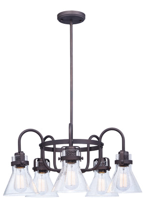 Maxim - 26117CDOI - Five Light Chandelier - Seafarer - Oil Rubbed Bronze