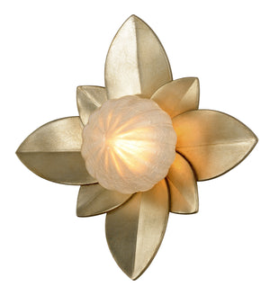 Corbett Lighting - 261-13 - One Light Wall Sconce - Gigi - Silver Leaf