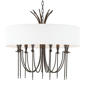 Hudson Valley - 4330-OB - Nine Light Chandelier - Damaris - Old Bronze