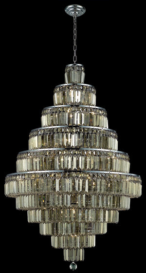 Elegant Lighting - V2038D32C-GT/RC - 30 Light Chandelier - Maxime - Chrome