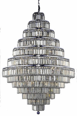 Elegant Lighting - V2038G42C-GT/SS - 38 Light Chandelier - Maxime - Chrome