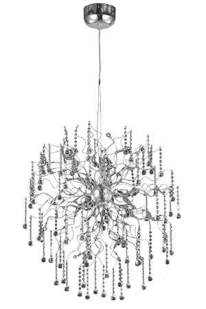 Elegant Lighting - V2075D33C/RC - 18 Light Chandelier - Astro - Chrome