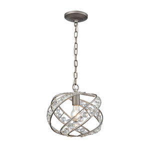 Elk Lighting - 16247/1 - One Light Mini Pendant - Renaissance - Weathered Zinc