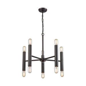 Elk Lighting - 21155/5+5 - Ten Light Chandelier - Cameron - Oil Rubbed Bronze
