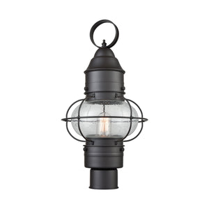 Elk Lighting - 57182/1 - One Light Post Mount - Onion - Oil Rubbed Bronze