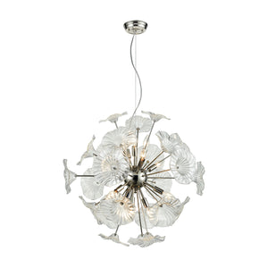 Elk Lighting - 68145/12 - 12 Light Pendant - Vershire - Polished Nickel