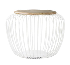ET2 - E20578-WTNW - LED Floor Lamp - Cage - White / Navaho White