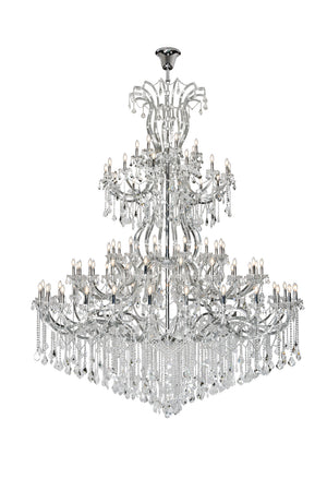 Elegant Lighting - 2800G120C/SA - 84 Light Chandelier - Maria Theresa - Chrome