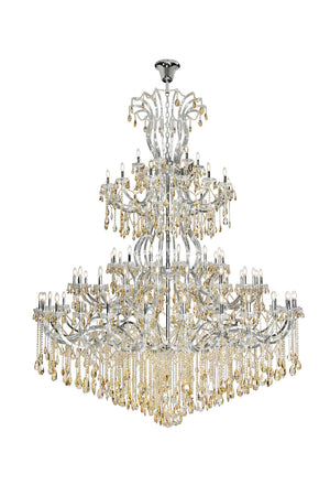 Elegant Lighting - 2803G120C-GS/RC - 84 Light Chandelier - Maria Theresa - Chrome