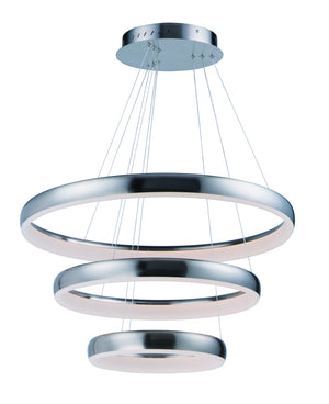 ET2 - E10038-SN - LED Pendant - Innertube - Satin Nickel