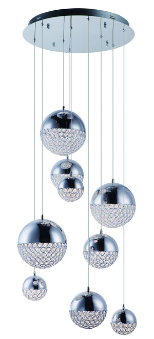 ET2 - E31229-20PC - LED Pendant - Eclipse - Polished Chrome