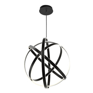 Modern Forms - PD-61738-BK - LED Chandelier - Kinetic - Black