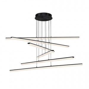 W.A.C. Lighting - PD-29806-BK - LED Pendant - Stack - Black