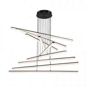 W.A.C. Lighting - PD-29809-BK - LED Pendant - Stack - Black