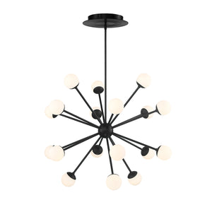 W.A.C. Lighting - PD-93838-BK - LED Pendant - Bossanova - Black