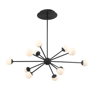 W.A.C. Lighting - PD-93844-BK - LED Pendant - Bossanova - Black