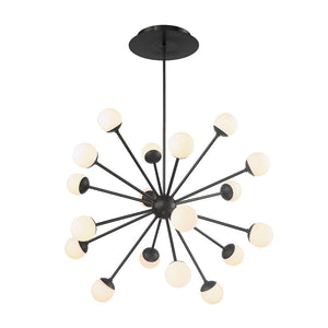 W.A.C. Lighting - PD-93854-BK - LED Pendant - Bossanova - Black