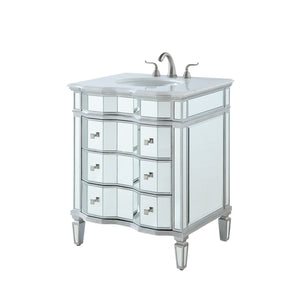 Elegant Lighting - VF-1105 - Single Bathroom Vanity Set - Camille - Silver