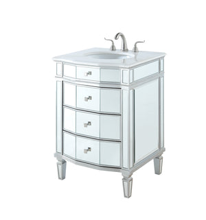 Elegant Lighting - VF-1106 - Single Bathroom Vanity Set - Camille - Silver
