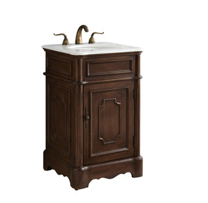 Elegant Lighting - VF30421TK - Single Bathroom Vanity Set - Retro - Teak