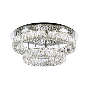 Kuzco Lighting - SF7842 (4000K) - LED Semi-Flush Mount - Chrome