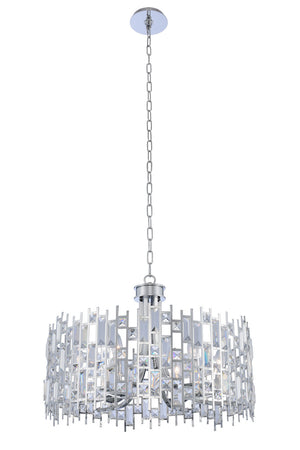 Allegri - 033051-010-FR001 - Six Light Pendant - Fonseca - Chrome