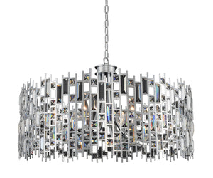Allegri - 033052-010-FR001 - Eight Light Pendant - Fonseca - Chrome