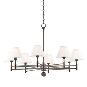 Hudson Valley - MDS106-DB - Eight Light Chandelier - Classic No.1