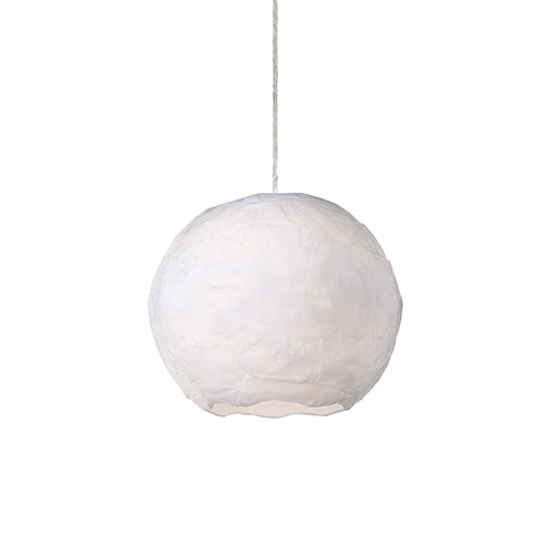 "Kuzco Lighting One Light Pendant 8.25"" Artemis 411908WH"