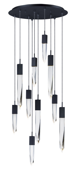 ET2 - E31247-20BK - LED Pendant - Quartz - Black