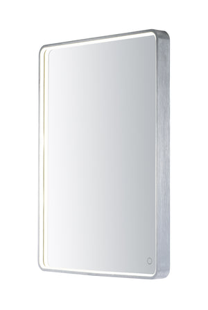 ET2 - E42014-90AL - LED Mirror - Mirror - Brushed Aluminum