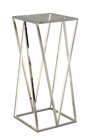 ET2 - E71003-PC - LED Accent Table - Victory - Polished Chrome