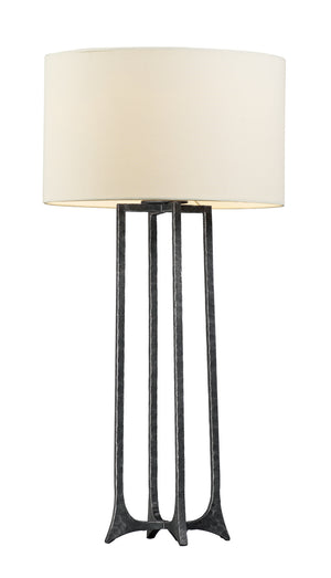 Maxim - 30308CVNI - One Light Table Lamp - Anvil - Natural Iron
