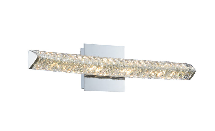 "Allegri LED Wall Sconce 6.00"" Chrome"