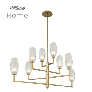 Kalco - 511560WB - LED Island Pendant - June - Winter Brass
